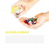 Alcohol And Pill - Dangerous Mix