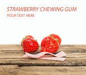 Strawberry Chewing Gum