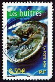 Postage Stamp France 2004 Oysters, Seafood