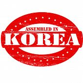 Assembled In Korea