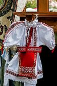 Romanian Traditional Costume For Little Girl