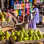Fruit Market In India.