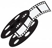 Film Strip On The Reel