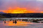 Sunset Over Lake Umayo