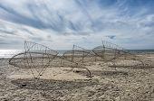 Blaavand Beach At The Danish North Sea Coast