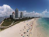 Miami Beach, Florida Aerial View