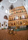 Valday, Russia - August 17, 2014: : Interior Of The Temple Of The Trinity. Church Was Founded In 174
