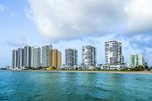 Skyline Of  Sunny Isles Beach , Florida