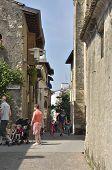 Medieval Street In Sirmione