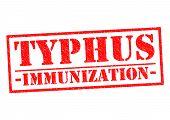 Typhus Immunization