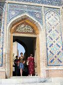 Samarkand Entrance Of Shakhi-zindah 2007