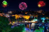 Fireworks In Antalya Turkey