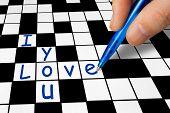 Crossword - I Love You