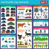 Contryside Map Elements