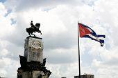 Equestrian Monument In Cuba