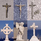 religion cross set