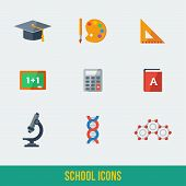 Modern flat icons vector collection.