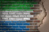 Dark Brick Wall With Plaster - Sierra Leone