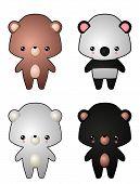 Kawaii Style Bears