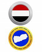 Button As A Symbol  Yemen