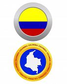 Button As A Symbol Colombia