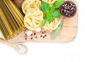 Fresh Pasta And Italian Ingredients