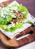 Tortilla With Chicken Breast
