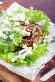 Tortilla With Chicken Breas