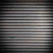 picture of roller shutter door  - metal roller shutter as a  texture background - JPG