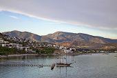 on the Aegean coast