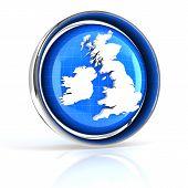 United Kingdom, UK icon