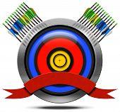 Archery Metal Icon