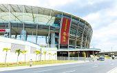 BAHIA, BRAZIL - CIRCA NOV 2014: Fonte Nova Stadium in Salvador, Bahia, Brazil.