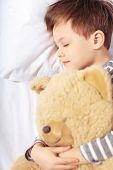 pic of teddy  - Sleeping angel - JPG
