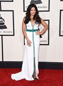 LOS ANGELES - FEB 08:  Gina Rodriguez arrives to the Grammy Awards 2015  on February 8, 2015 in Los Angeles, CA