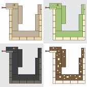 symbol icon rectangle animal snake