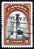 Postage Stamp Canada 1939 War Memorial, Ottawa
