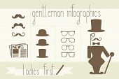 image of gents  - vector illustration - JPG
