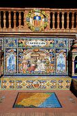 Tiled bench, Seville.