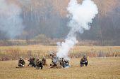 Grenade Launcher Shooting