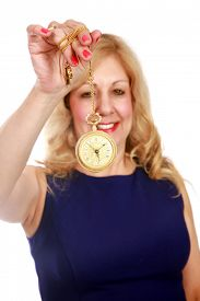 image of hypnotic  - A trained Hypnotherapist puts You the viewer under her Hypnotic Spell as you gaze deeply onto the swinging gold watch - JPG