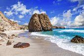 picture of greek-island  - beautiful scenic beaches of Greek islands  - JPG