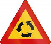 picture of traffic sign  - Icelandic traffic warning sign - JPG