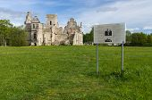 foto of manor  - The ruins of the Ungru manor Estonia - JPG