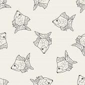 picture of goldfish  - Goldfish Doodle - JPG