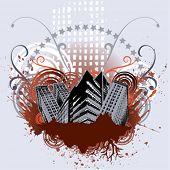 grunce city vector