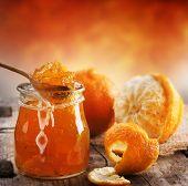 Постер, плакат: Оранжевый домашним вареньем