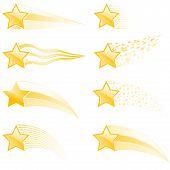 Sterne Spuren