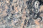 Full Frame Rock Background, Gneiss, Metamorphic Granite, Distort