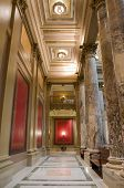 picture of pilaster  - Interior of Minnesota State Capitol along corridor framed by columns and pilasters - JPG